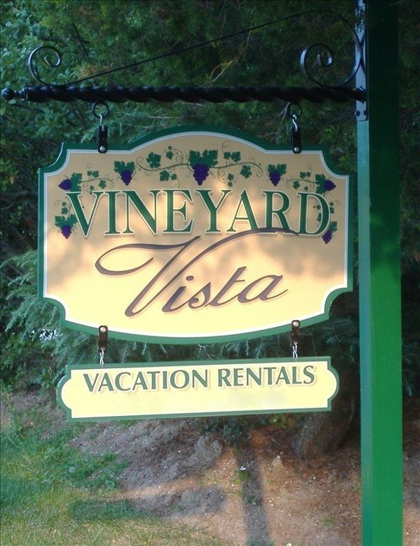 Sign at Vineyard Vista