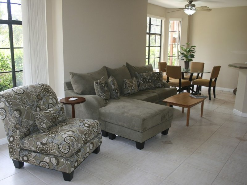 comfortable couch and chair