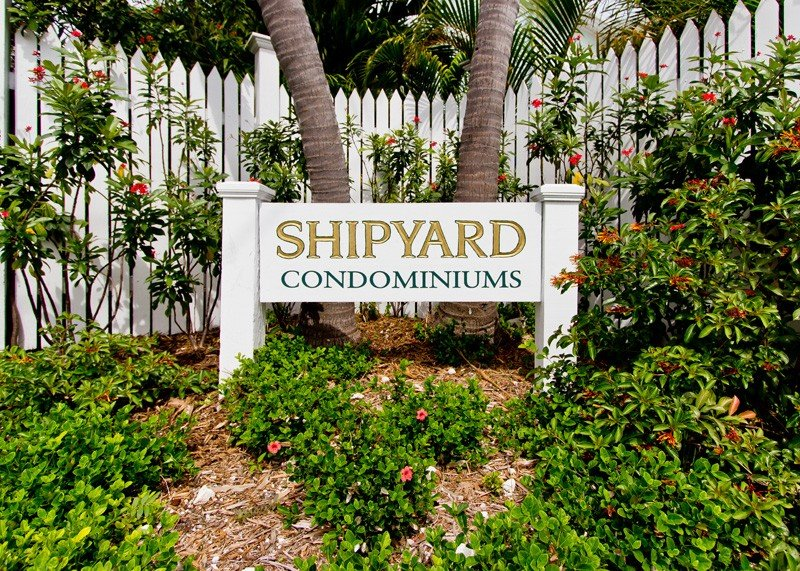 Shipyard Condominiums are located within the Guard Gated Truman Annex Property