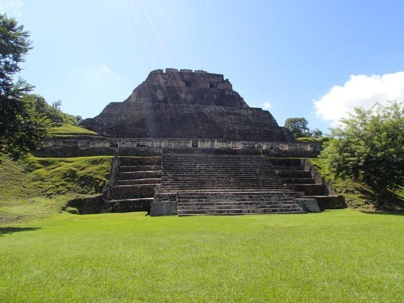 Beautiful Maya Ruin where you can go visit.