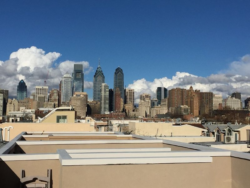 Luxury Spacious Home W/large Patio And Amazing Rooftop Deck W/city View, location de vacances à Philadelphie