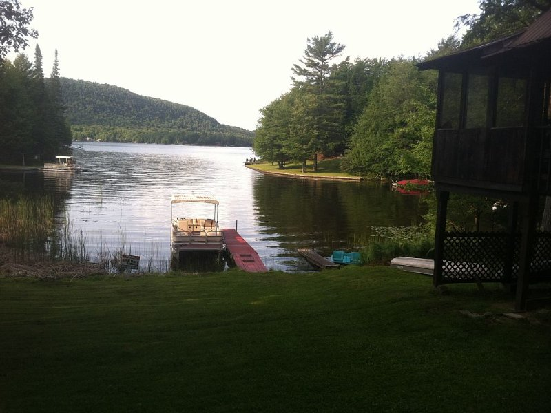 Adirondack 'Big House' – semesterbostad i Thendara