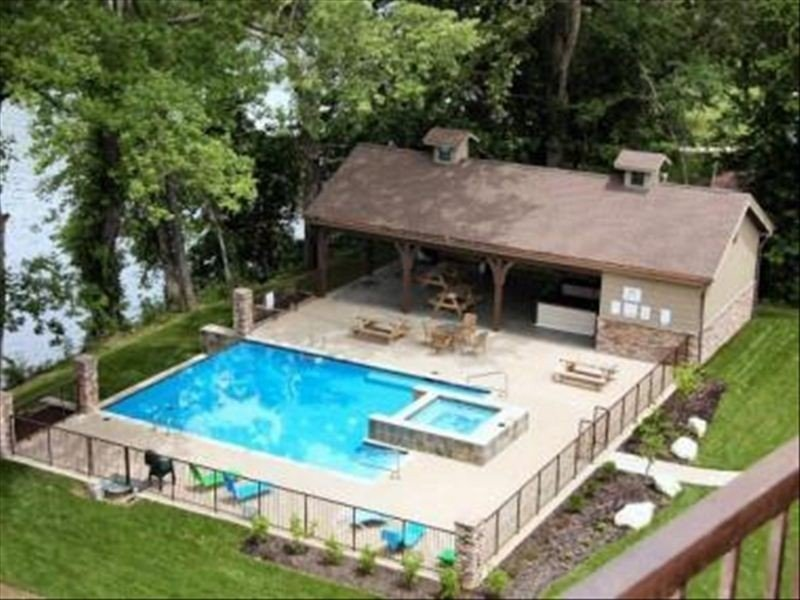Relax & Entertain at Your Lakefront Resort Home W/ Pool & Spa!, holiday rental in Rockaway Beach