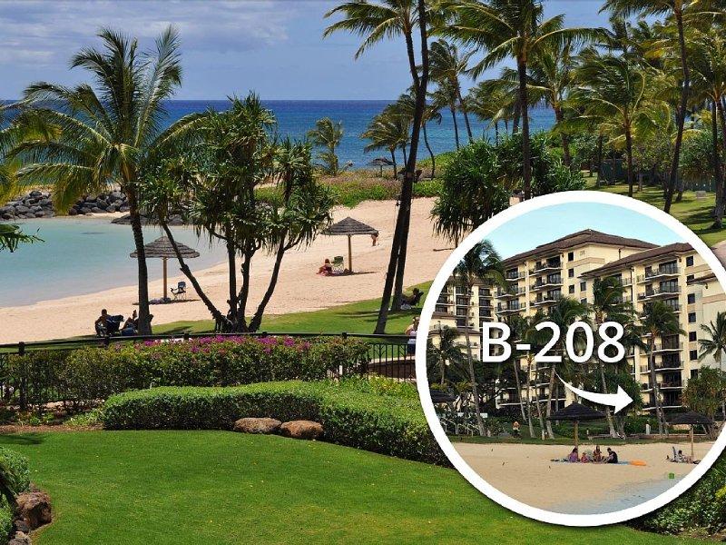 Luxury Ko Olina Beach Villa with direct beach view. Sleeps 6., vacation rental in Kapolei