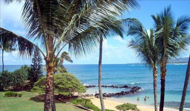 Beautiful Ocean Front Lae Nani Private Resort Condo Rental, alquiler de vacaciones en Kapaa