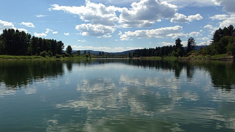 Shuswap River, fantastic for a peaceful float on a hot summer day