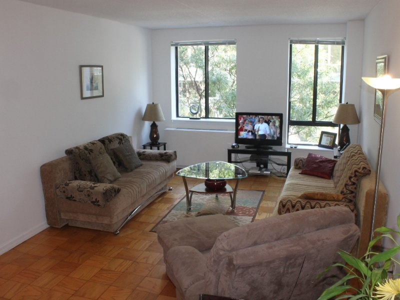 Very spacious living room with 2 queen size sofa-sleepers and loveseat