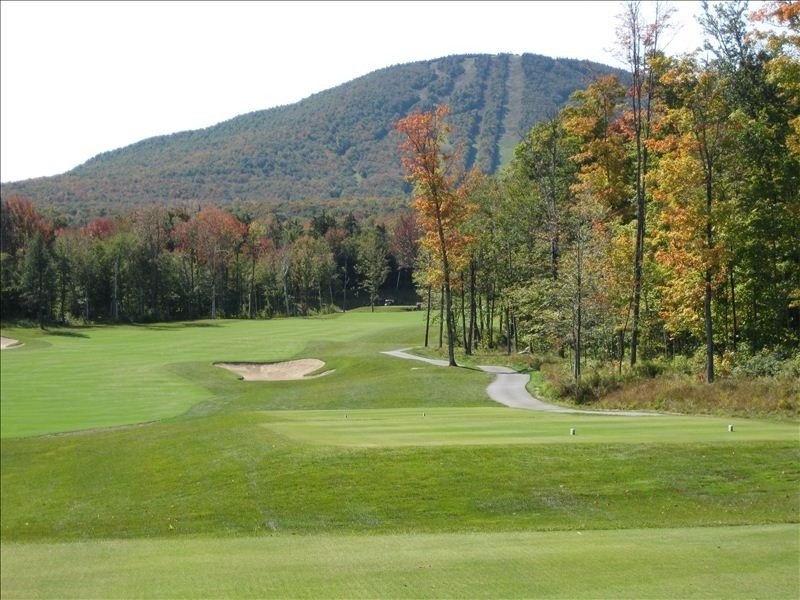 Jay Peak Championship golf course.  Ranked #1 Golf course in Vermont.