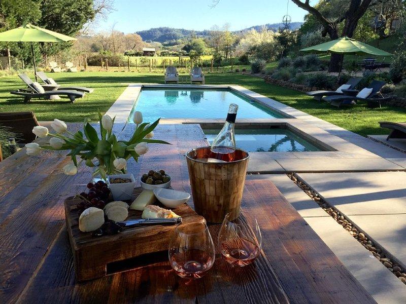 Tanda Tula, Wine Country Sanctuary, vacation rental in Healdsburg