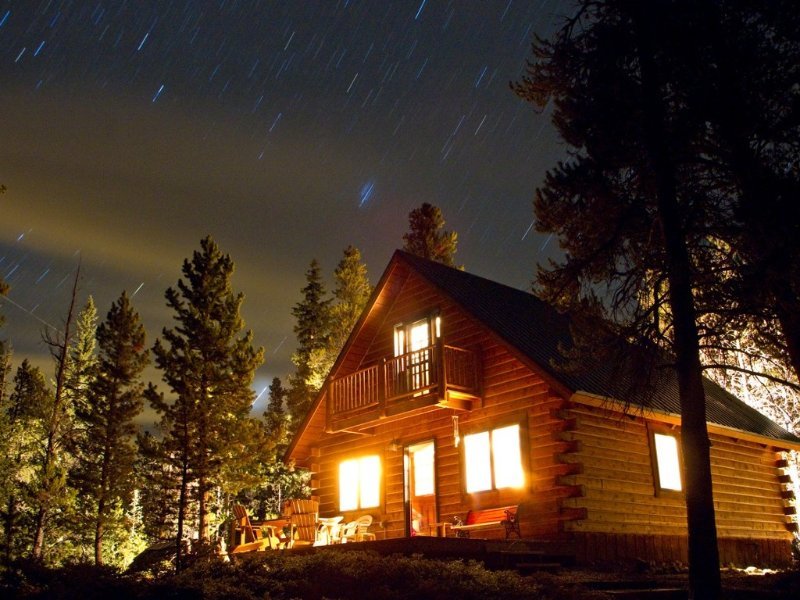 Peaceful, Secluded Cozy Log Cabin in the Mountains, holiday rental in Fairplay