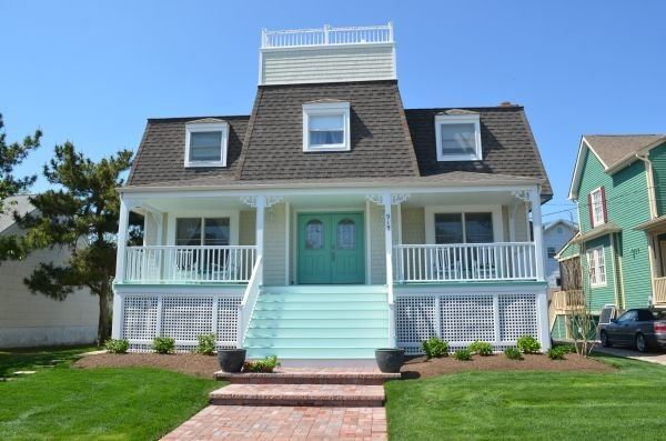 Sea Glass Cottage - short walk to beach and town, holiday rental in Cape May