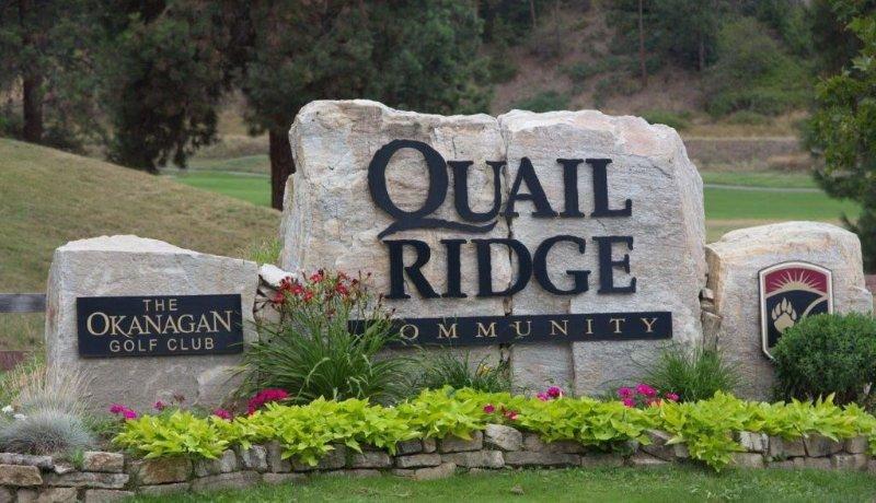 Welcome to the Quail Ridge Community:  Quail and Bear Golf Clubs
