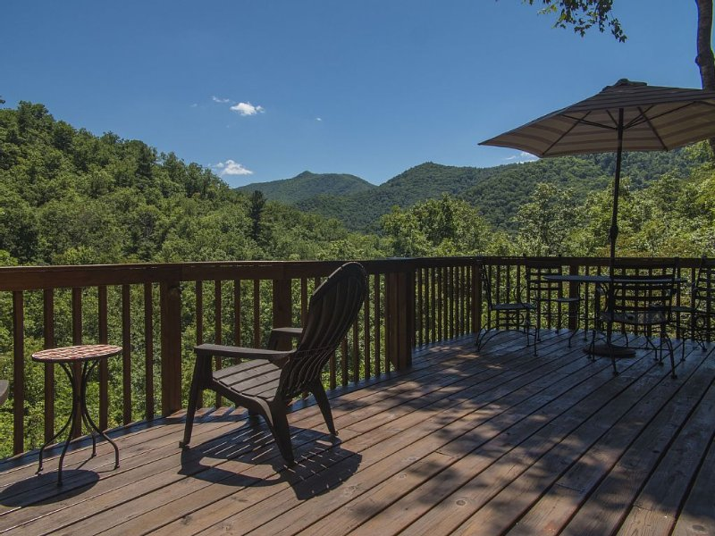 Cold Mountain Cabin with Beautiful Views, casa vacanza a Canton
