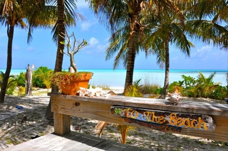 Palm 22 - Beachfront Cottage with Spectacular Views/Beach, location de vacances à Eleuthera