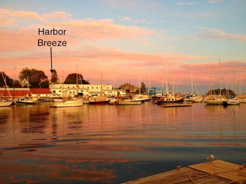 Great Location ! Harbor Breeze is on Camden Harbor & walking distance to town, holiday rental in Camden