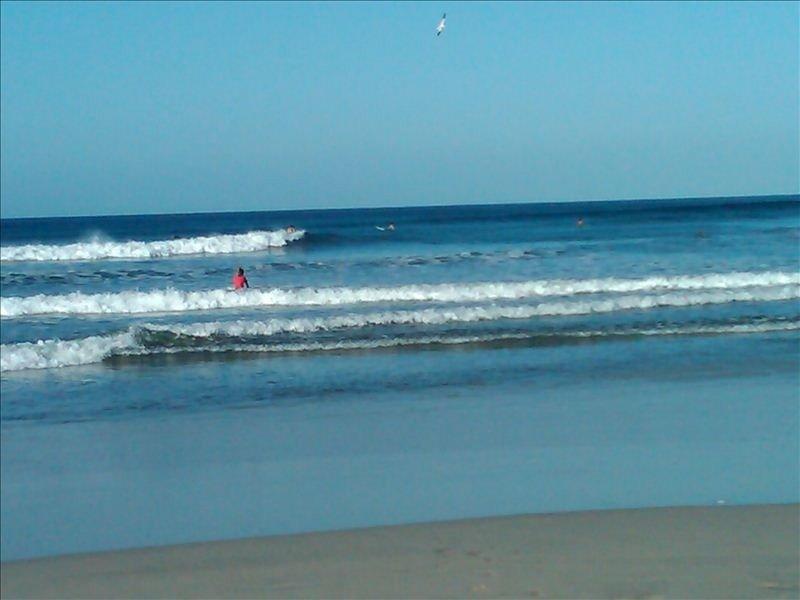 Ocean waves just steps away!