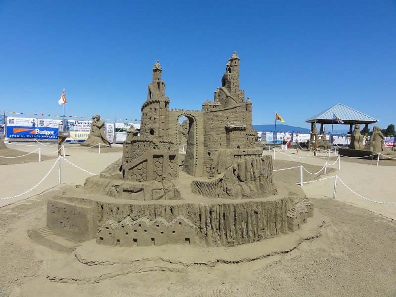 Parksville's world-class annual sand sculpture competition