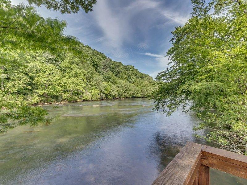 Toccoa River - Downstream