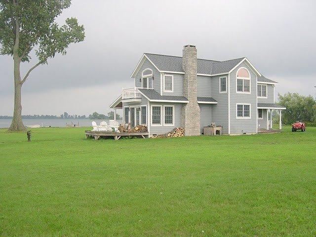 Back side of house looking toward Basin Harbor