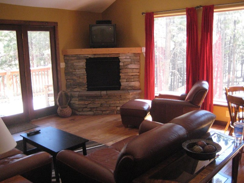 Awesome Mountain Getaway Just 15 minutes from Angel Fire, in the forest!, vacation rental in Angel Fire