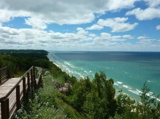 Nearby beautiful Lake Michigan