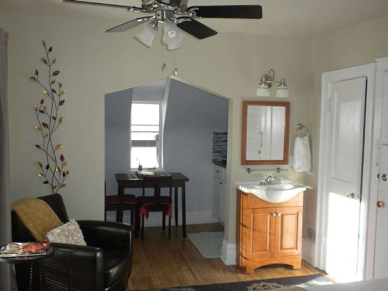Exceptional!  Must See!  Sunny Studio  Top Location, Private Balcony, vacation rental in Denver