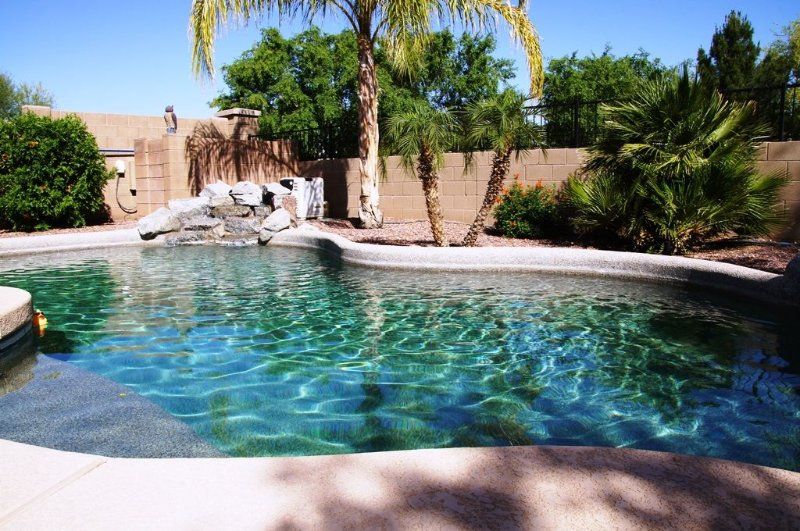 Private Desert Oasis with Tropical backyard,Heated Pool Included, Built-in Grill, location de vacances à Surprise