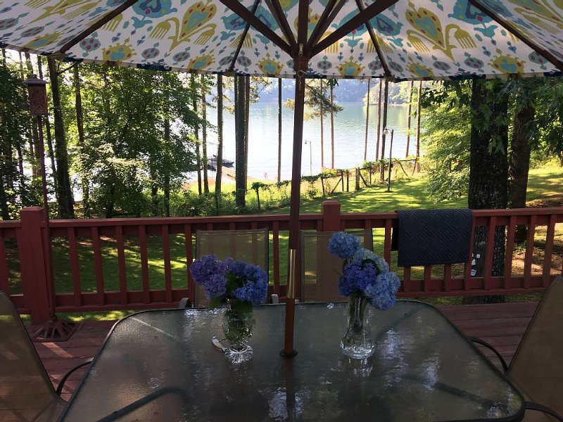 Family Friendly Lake Front Home with Amazing Views, holiday rental in Eastanollee