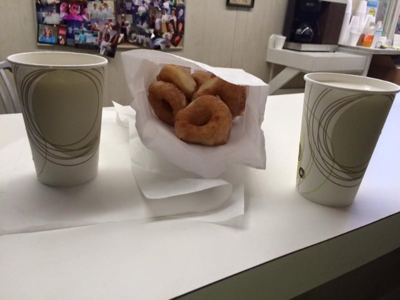 Don't forget to stop by for Britt's Donuts and milk on the Boardwalk!