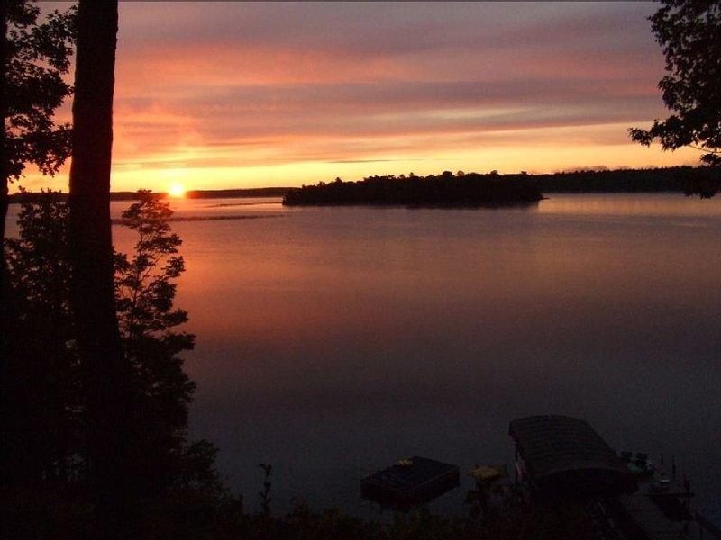 Amazing views of Gull Lake.