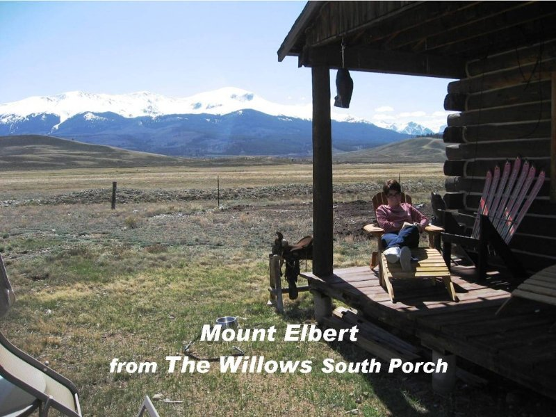 The Willows: Relax and Enjoy the Quiet Beauty of God's Creation, vacation rental in Leadville