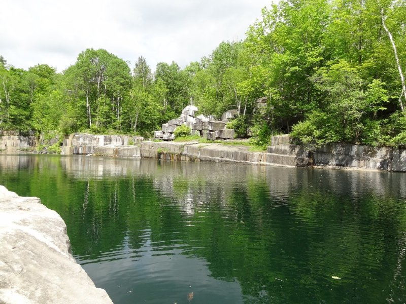 Two minutes away, the Dorset Marble Quarry is the local favorite swimming hole!