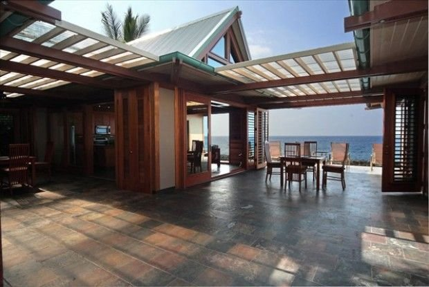Elegant Private Kona Oceanfront Hawaiian Beach House directly on Kahaluu Bay, alquiler de vacaciones en Kailua-Kona