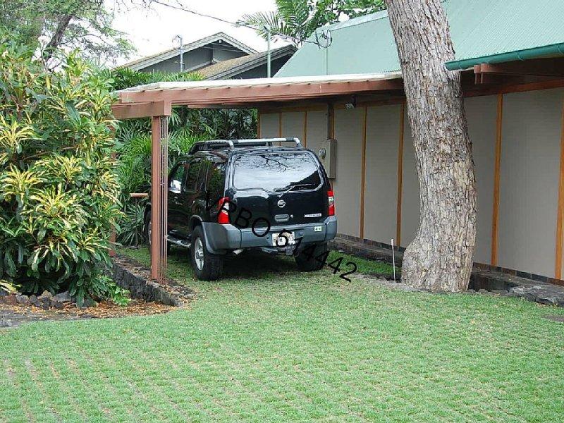Carport (car not included in rental)