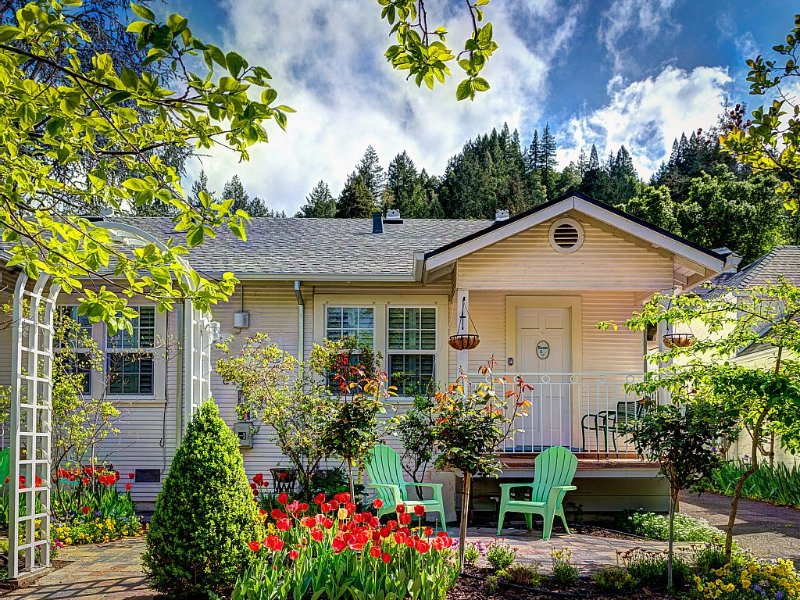 Charming Town Cottage in the Heart of Wine Country, holiday rental in Pope Valley