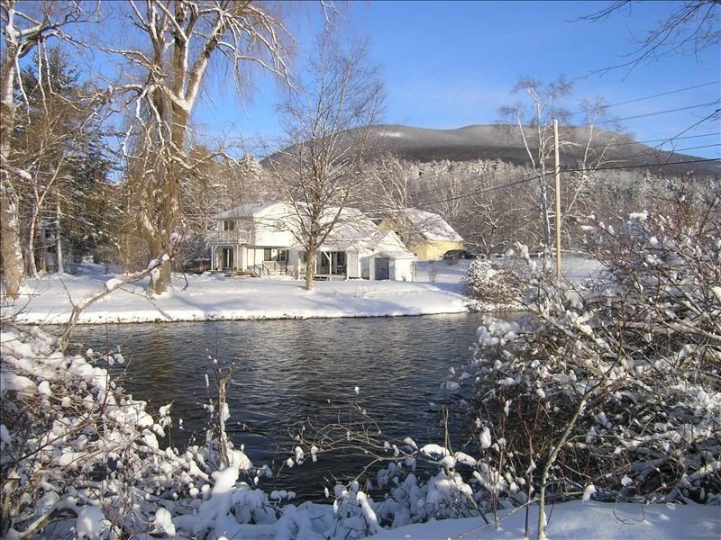Kayaker & Fly-fisher DREAM, private BattenKill waterfront super charming home, holiday rental in Green Mountains