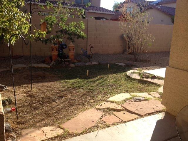 Enclosed Back Yard