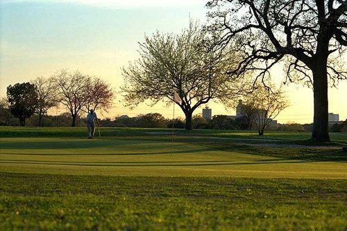 Hancock Golf Course--open to the public and only blocks from the house.