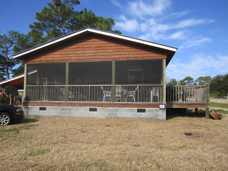 Inviting Island Cottage, vacation rental in Harkers Island