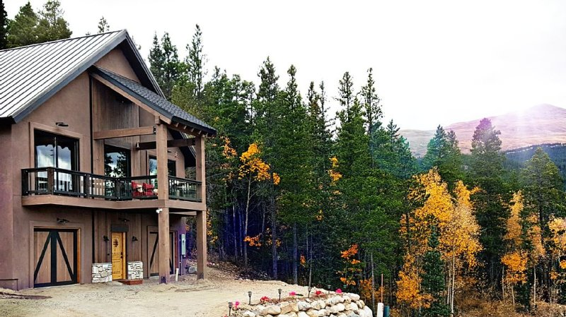 Brand New Luxury Home, minutes from Breckenridge, Indoor Hot Tub, Mountain Views, holiday rental in Fairplay