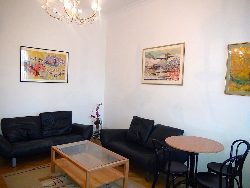 Centrally located very cosy secured apartment for 2-4 Persons with river view – semesterbostad i Wien