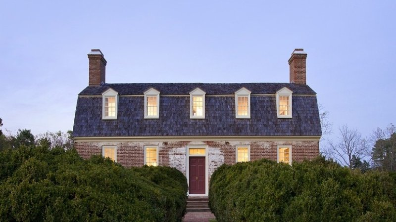 A 1763 Georgian Manor near Williamsburg and Virginia's Historic Triangle, holiday rental in Schley