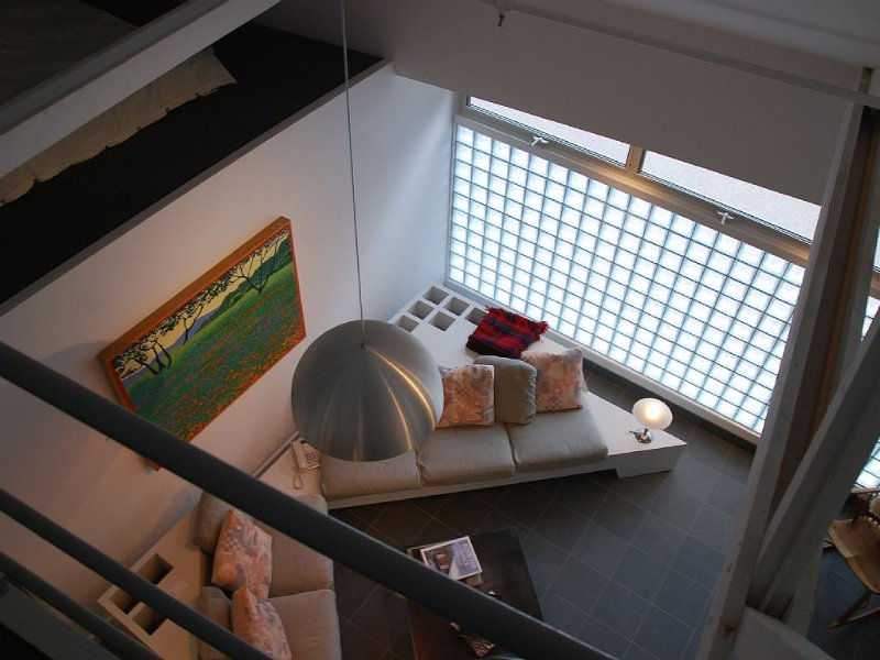 Loft...looking down to the living room