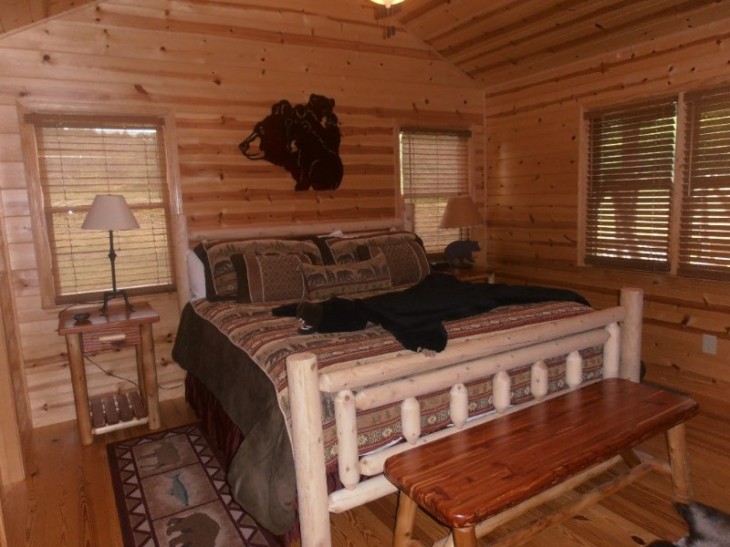 Bear Claw Cabin - Get away from it all in the north Georgia mountains!, location de vacances à Blairsville
