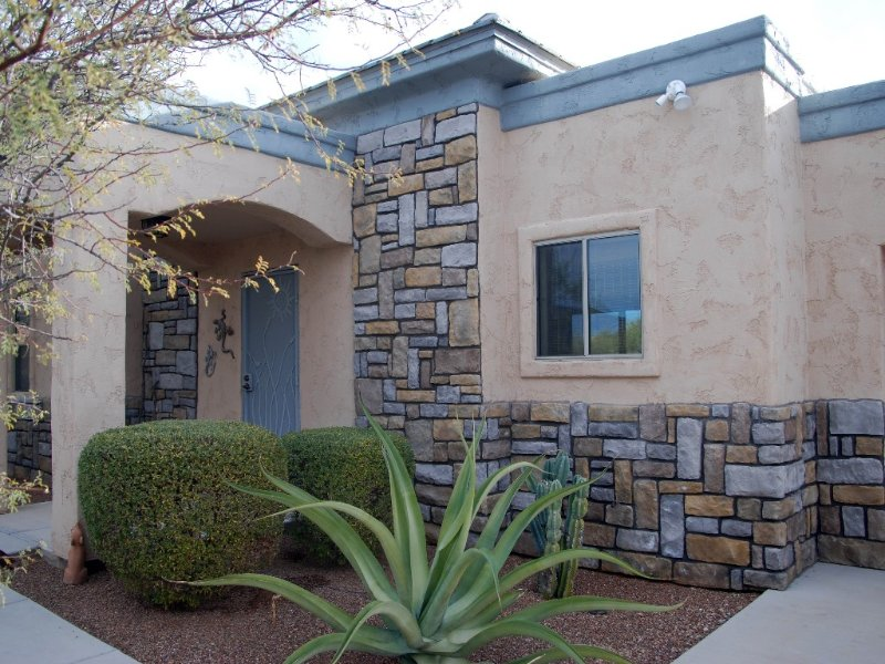 Private secluded Casita on 3 acre lot, in Oro Valley area, vacation rental in Tortolita