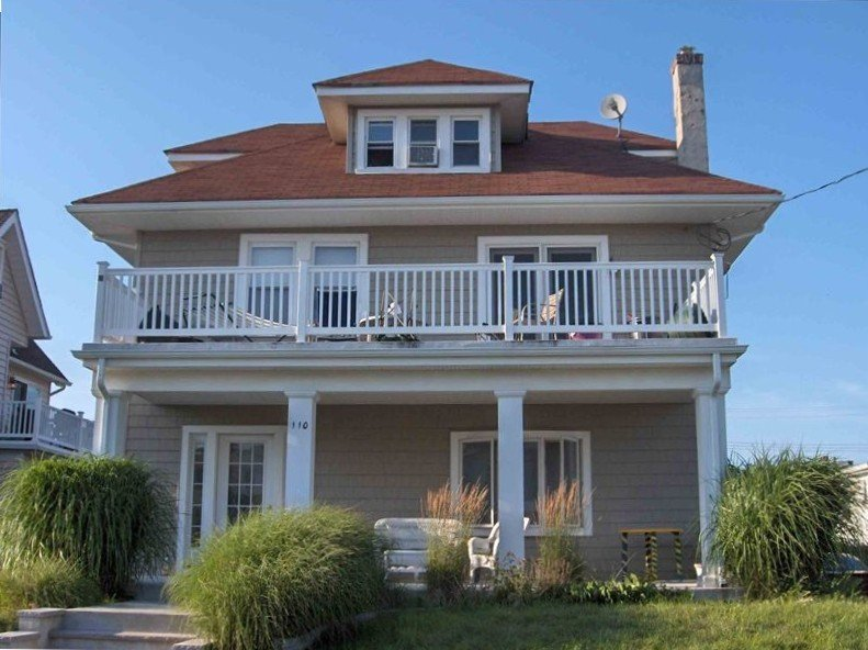 Beautiful Oceanview Colonial, bring the family, avail year round, upstairs, vacation rental in Belmar