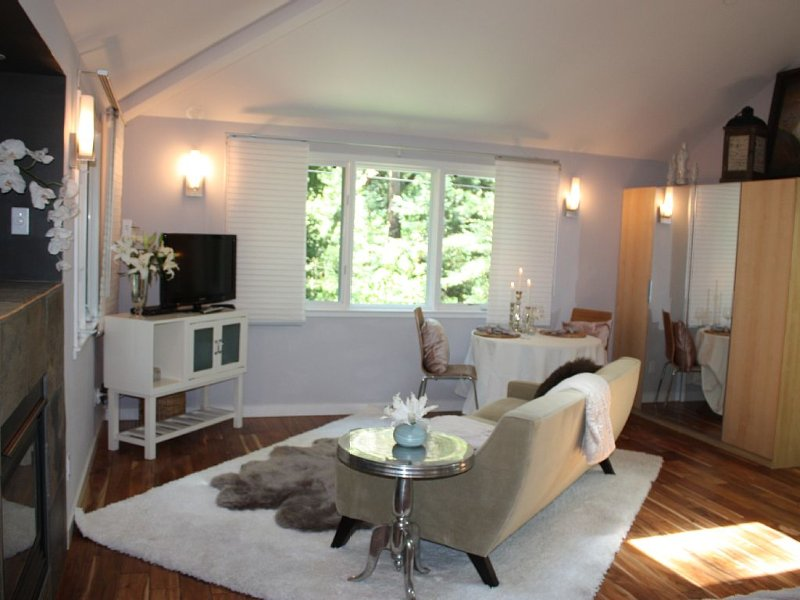 Luxurious Creekside Studio minutes from downtown Mill Valley, PRIVATE unit, location de vacances à Marin County