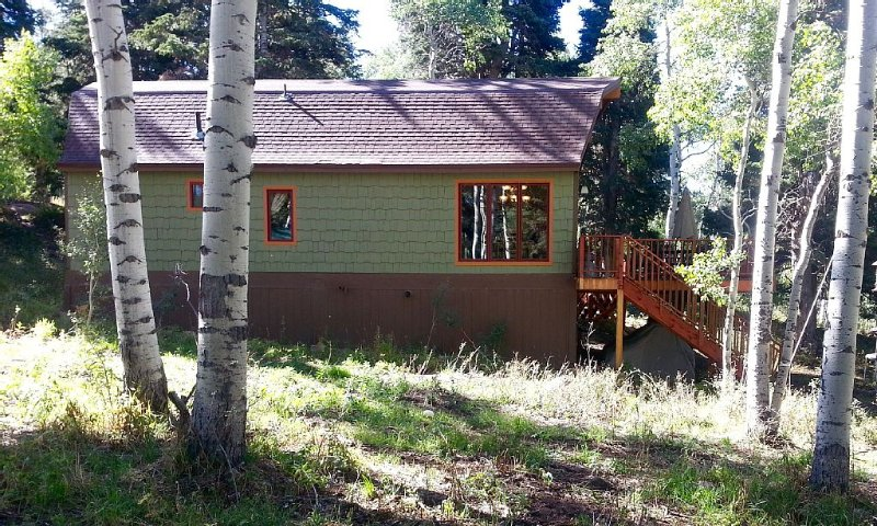FAMILY MOUNTAIN RETREAT for the NOSTALGIC SPORTS FAN! 25 minutes from PARK CITY, holiday rental in Woodland