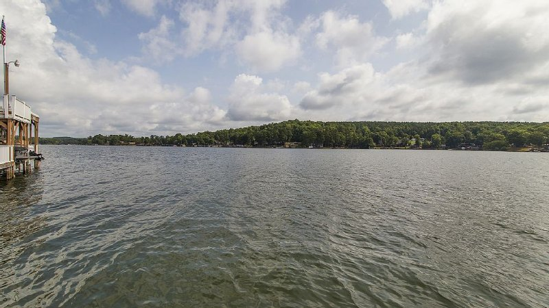 Badin Lake view from boat launch