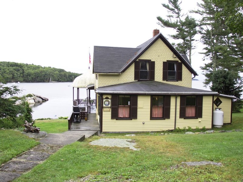 Best view in East  Boothbay , Maine - 4 Bedroom Oceanfront Cottage, alquiler de vacaciones en South Bristol